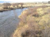 Excellent views - 8.5 acres with river access, artesian