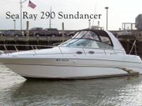 This 29? Sea Ray 290 Sundancer 1998 is located in New