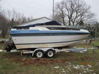 26ft 1987 Centery Mirada w/manning trailer. Asking