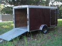 6x10 Enclosed Utility Trailer for sale. Great for lawn