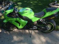 2006 Kawasaki ninja ZX 10R with 19336 miles. It has