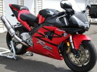 2003 Honda CBR 954 RR. This bike is super clean and