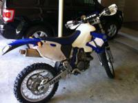 I have a great running WR250F for sale that is street