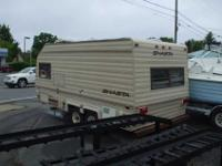 1988 SHASTA CAMPER IN GREAT CONDITION HAS BUNK BED FOR