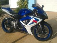 2006 SUZUKI GSX-R 600* I purchased the bike with 3481