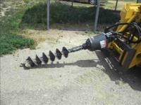 COMES WITH BOBCAT nine AUGER BIT WITH TIP AND BLADE.