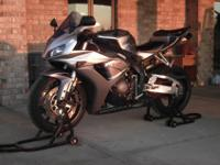 2006 HONDA CBR 1000 (grey/black) WITH 10500