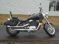 1996 HONDA SHADOW ACE, Black, www.roadtrackandtrail.com