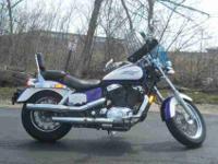 1995 HONDA SHADOW ACE, Purple,