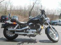 1997 HONDA SHADOW ACE, Black, www.roadtrackandtrail.com