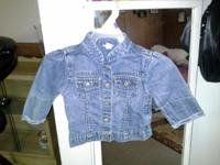 2 Baby Gap jean jackets great condition wear one time,