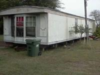 1988- 14x58 2bedroom 2 bath fixer upper.  Needs a lot