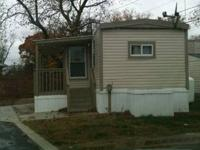 2 bedroom 1 bath trailer for sale.  It's located in the