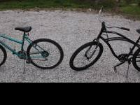 2 seperate bikes. Blue Bike- Murray Extreme bike. Good