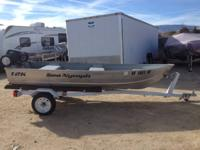 12ft SeaNymph riveted boat excellent condition Has