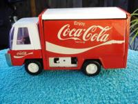 For Sale: Vintage Coca-Cola Delivery Truck. It has