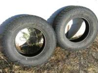 Selling two Cooper Studed Snow tires. About 70% Tread