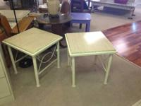 2 end tables priced at 19.95 each and 1 coffee table