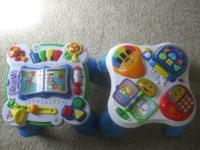 Leap Frog and Fisher Price Learn and Play Music Table.
