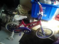 Hi I am selling 2 girl bikes. I'm asking $40 for both.