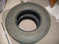 For sale are 2 Goodyear Wrangler 245/75/R16 tires from
