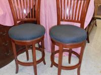 2 Matching Hillsdale Bar Stools in great shape.