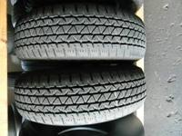 PAIR OF GOODYEAR WRANGLERS R/T'S  NICE TIRES 245 70 17