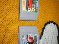 I have for sale two N-64 video games they are Cruis 'n