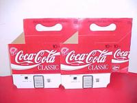 I have 2 NOS Coke Coca Cola bottle cardboard providers.