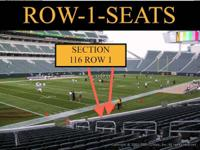 2 in 116 row 1 for 75 per ticket 3 in 148 row 1 for 75