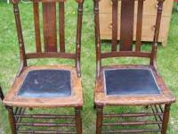 We have 2 Pressback Chairs. They are in very good