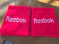 Two (2) Red Reebok Scarves for sale. Brand new `$5 each