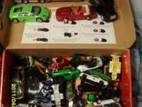 @ boxes of cars, trucks, motorcycles, monster jam, and