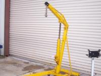 good used engine stand 750 lbs plus 2 ton folding
