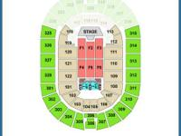 Two side by side tickets to Justin Timberlake at the
