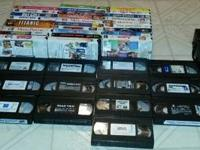 I have two VCR and 40 vhs movies all in great working