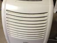 Whirlpool window ac unit - $90  Haier window ac unit +
