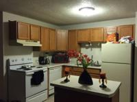 Awesome 2 bedroom, 1 bathroom apartment for rent. My