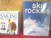 I have 2 books, # 1 is Complete sailing manual By Steve