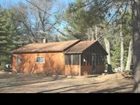 2 all year holiday rental cabins available on peaceful