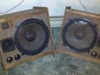ALWAYS LOUD AND CLEAR, PLAYED BASS GUITAR THROUGH THESE