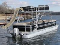 FEATURED IS OUR 2012 PREMIER 30FT PONTOON THAT IS A