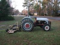 A GOOD 2N FORD TRACTOR----NO E-MAILS PLEASE--CALL SAM