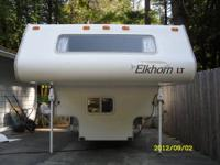 9.5 ft foot 2003 Elkhorn Cabover Camper in Xcellent