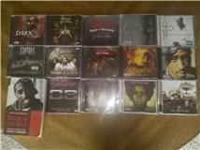 i'm selling my rap c.d. collection, in like new