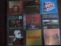 Hi. i have 26 Music CD's by Rap, Hip Hop, Gangsta, R &