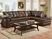 Freeport Brown 2pc Sectional for ONLY $798.00.  The