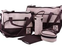 I have 2 pieces diaper bags. In great condition.  One