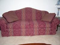 have 2 red brocade sofas & 1 red brocade loveseat