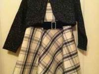 2T YoungLand dress with cardigan. Bought from Belk! Pic